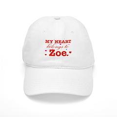 I love Zoe Baseball Cap