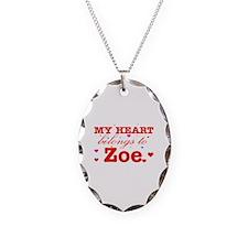 I love Zoe Necklace