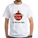 Cuba Mens White T-shirts