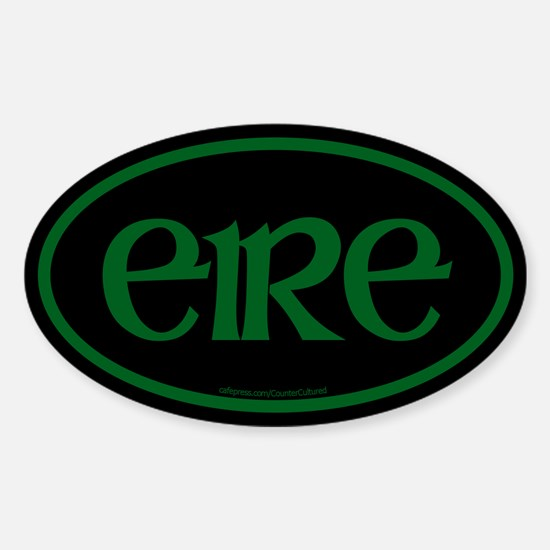 Eire Euro Oval Decal