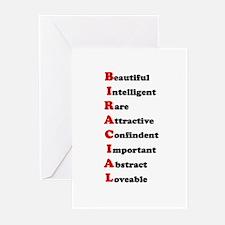 Biracial/ Biracial Pride Greeting Cards (Package o