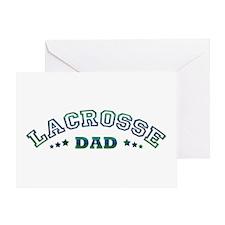 Lacrosse Dad Greeting Card