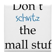 Cute Jewish humor Tile Coaster