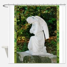 Angel! tranquil prayer, photo Shower Curtain