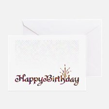 Birthday 3 Greeting Card