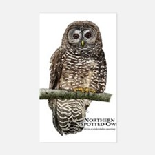 Northern Spotted Owl Decal