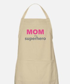 Superhero Mom Apron