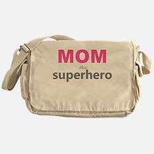 Superhero Mom Messenger Bag