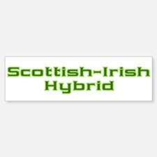 Scottish Irish Hybrid Bumper Bumper Bumper Sticker