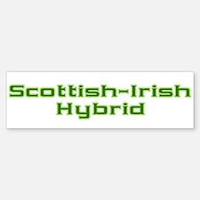 Scottish Irish Hybrid Bumper Bumper Stickers