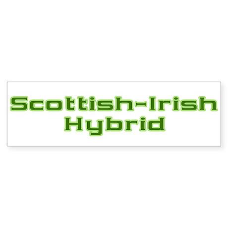 Scottish Irish Hybrid Bumper Sticker