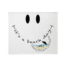 Dewey Beach, Delaware Throw Blanket