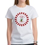 Lucky-Kitty-Red-circle T-Shirt