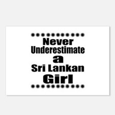 Never Underestimate A Sri Postcards (Package of 8)
