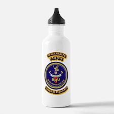 US - NAVY - BeachMaster Unit One Water Bottle