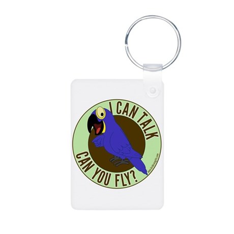 ICT,CYF Hyacinth Macaw Aluminum Photo Keychain