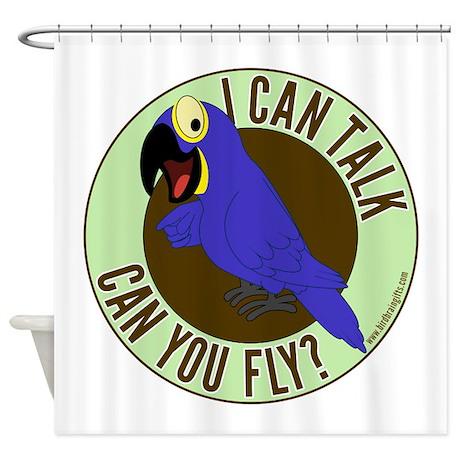 ICT,CYF Hyacinth Macaw Shower Curtain