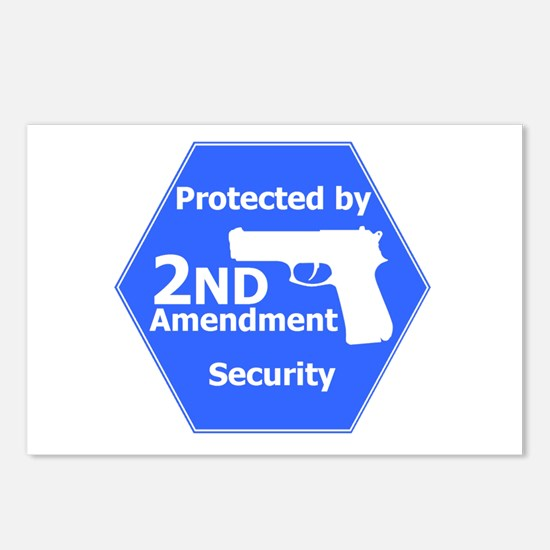 Second Amendment Postcards (Package of 8)