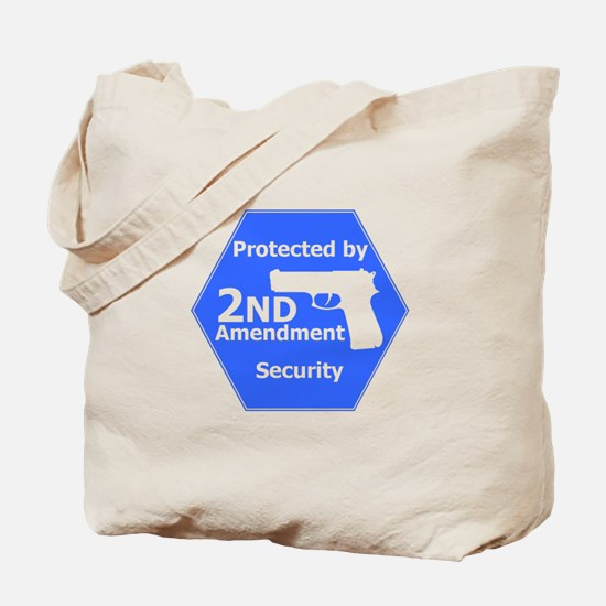 Second Amendment Tote Bag