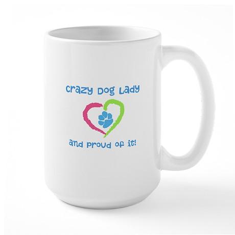 Crazy Dog Lady Large Mug