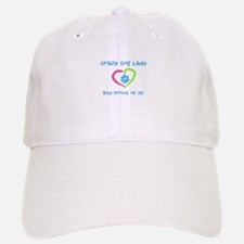 Crazy Dog Lady Baseball Baseball Cap