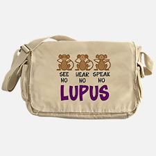 See No, Hear No, Speak No Lup Messenger Bag