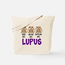 See No, Hear No, Speak No Lup Tote Bag