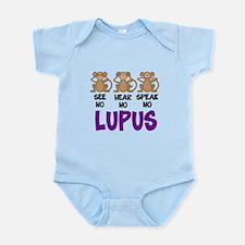 See No, Hear No, Speak No Lup Infant Bodysuit
