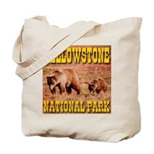 Yellowstone National Park Bea Tote Bag