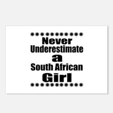 Never Underestimate A Sou Postcards (Package of 8)
