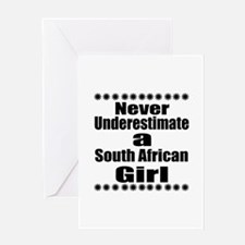 Never Underestimate A South African Greeting Card