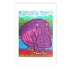 Herbie Hippo Postcards (Package of 8)