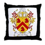 Van der Kop Coat of Arms Throw Pillow
