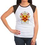 Van der Kop Coat of Arms Women's Cap Sleeve T-Shir