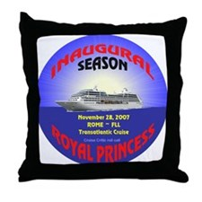 Royal Inaugural TA 2007 Throw Pillow