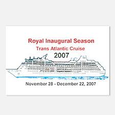 Royal Inaugural TA 2007 Postcards (Package of 8)