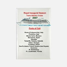 Royal Inaugural TA 2007 Rectangle Magnet
