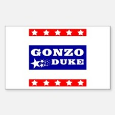 GONZO-DUKE Decal