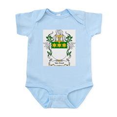 Van Koot Coat of Arms Infant Creeper