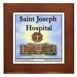 St Joseph Hospital Framed Tile