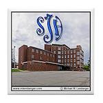 St Joseph Hospital new wing Tile Coaster