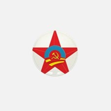 Obama Communist Star Mini Button (10 pack)