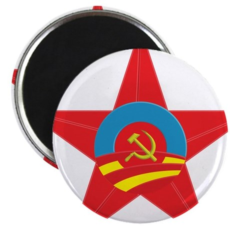 Obama Communist Star Magnet