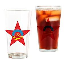 Obama Communist Star Drinking Glass