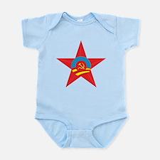Obama Communist Star Infant Bodysuit