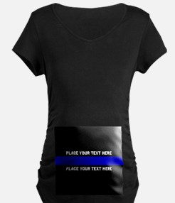 Thin Blue Line Customized T-Shirt