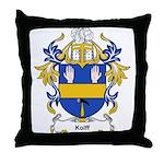 Kolff Coat of Arms, Family Cr Throw Pillow