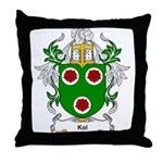 Kol Coat of Arms Throw Pillow