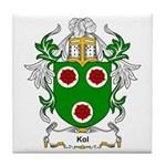 Kol Coat of Arms Tile Coaster