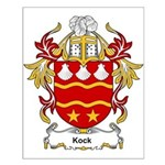 Kock Coat of Arms Small Poster